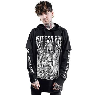 kapucnis pulóver férfi - Gory Hood Top - KILLSTAR