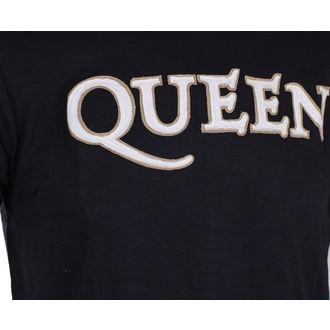 metál póló férfi Queen - Logo & Crest - ROCK OFF, ROCK OFF, Queen