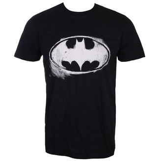 filmes póló férfi Batman - LOGO MONO DISTRESSED - LIVE NATION, LIVE NATION
