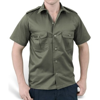ing SURPLUS - US Hemd 1/2 - OLIVE, SURPLUS
