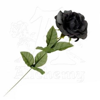 fekete rózsa Black Imitation rose, ALCHEMY GOTHIC