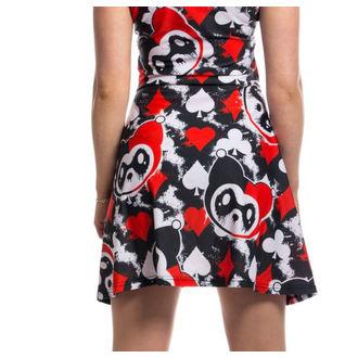 KILLER PANDA női ruha - CARD - FEKETE / PIROS, KILLER PANDA