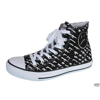 magasszárú cipő női - Alpha High Gunshow - ROGUE STATUS, ROGUE STATUS