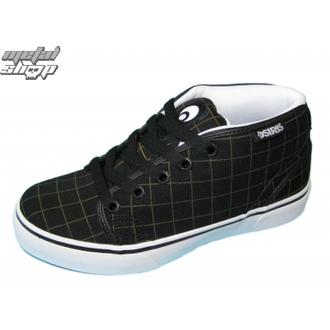 magasszárú cipő női - KEEFER - OSIRIS - BLACK/PLAID/WHITE