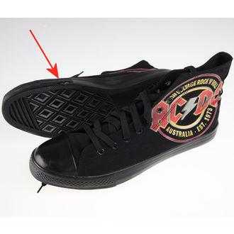 magasszárú cipő férfi AC-DC - Sneakers - F.B.I., F.B.I., AC-DC