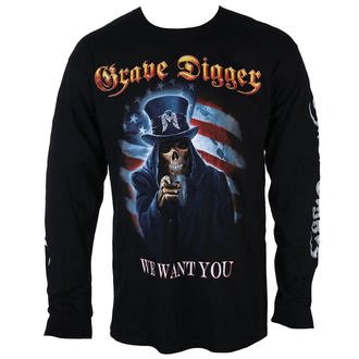 metál póló férfi Grave Digger - UNCLE SAM 2016 - Just Say Rock, Just Say Rock, Grave Digger