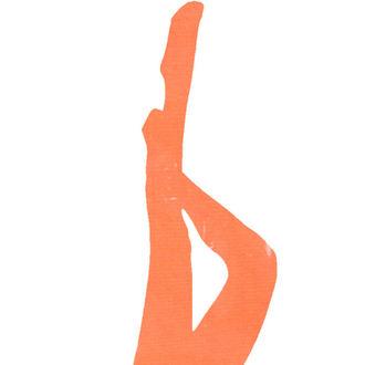 LEGWEAR harisnyanadrág - signature 70 denier coloured soft opaque tight - neon narancs, LEGWEAR