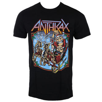 metál póló férfi Anthrax - Christmas Is Coming - ROCK OFF
