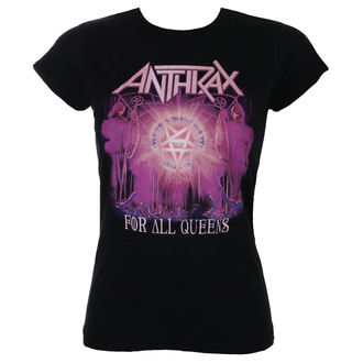 metál póló női Anthrax - For All Queens - ROCK OFF