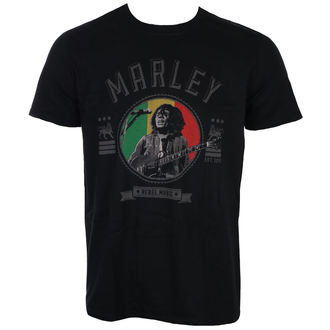 metál póló férfi Bob Marley - Rebel Music - ROCK OFF, ROCK OFF, Bob Marley