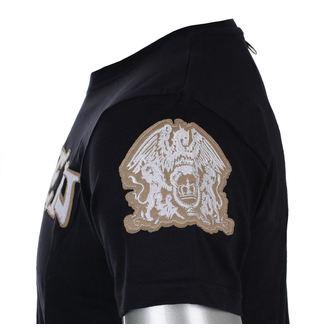 metál póló férfi Queen - Logo & Crest - ROCK OFF