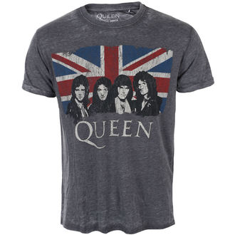 metál póló férfi Queen - Vintage Union Jack - ROCK OFF, ROCK OFF, Queen
