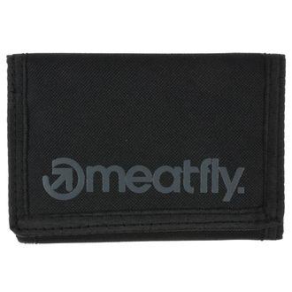 Pénztárca MEATFLY - Vega - Black, MEATFLY