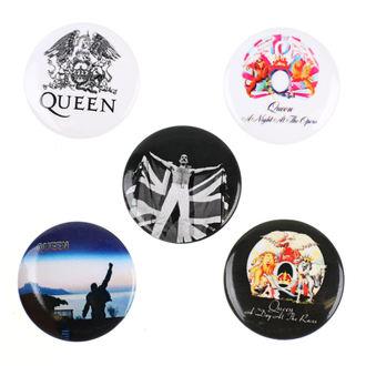 Queen kitűzők - RAZAMATAZ, RAZAMATAZ, Queen