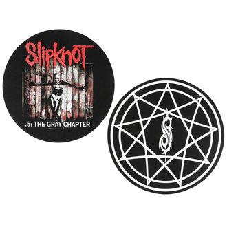 Bakelit Lemez formájú szőnyeg - 2 darab- Slipknot - RAZAMATAZ
