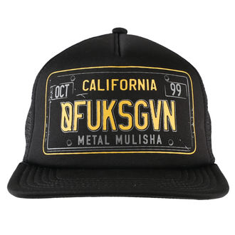 METAL MULISHA sapka - CA PLATE, METAL MULISHA