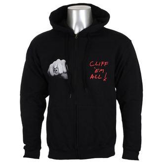 kapucnis pulóver férfi Metallica - Cliff Burton -, Metallica