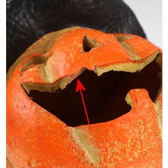 Dekoráció CERAMIC PUMPKIN WITH HAT AND LIGHT - DAMAGED