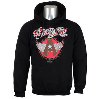 kapucnis pulóver férfi Aerosmith - Flying A Logo - HYBRIS, HYBRIS, Aerosmith