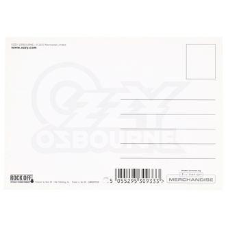 Képeslap Ozzy Osbourne - ROCK OFF, ROCK OFF, Ozzy Osbourne