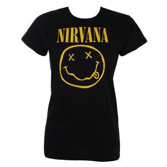 metál póló női Nirvana - SMILEY - LIVE NATION - PENIR010