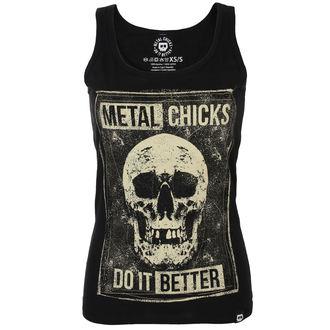 METAL CHICKS DO IT BETTER Női felső- MCDIB021, METAL CHICKS DO IT BETTER