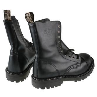 bőr csizma férfi - 10 dírkové černé ( 105/106 Black) - STEEL, STEEL