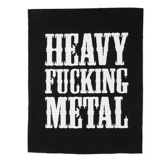 Heavy fucking metal felvarró
