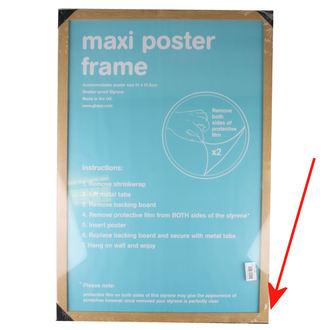 keret nak nek poszter (61x91,5 cm) - Oak - GB Posters - SÉRÜLT, GB posters
