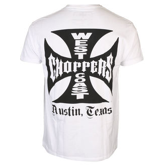 póló férfi - OG CROSS ATX - West Coast Choppers, West Coast Choppers