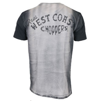 póló férfi - REAL - West Coast Choppers, West Coast Choppers