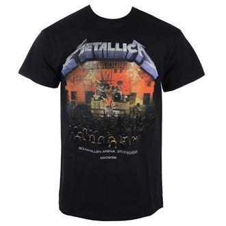 metál póló férfi Metallica - Stockholm 86 -, Metallica