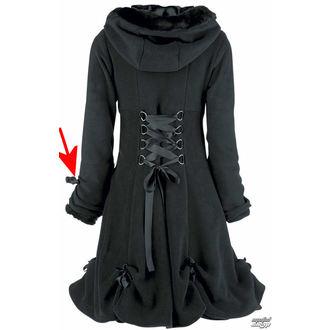 kabát női POIZEN INDUSTRIES - Alice - Fekete - SÉRÜLT, POIZEN INDUSTRIES