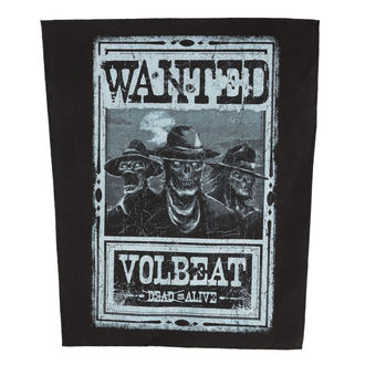 VOLBEAT Felvarró - WANTED - ROCK OFF, ROCK OFF, Volbeat