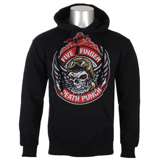 kapucnis pulóver férfi Five Finger Death Punch - Black - ROCK OFF, ROCK OFF, Five Finger Death Punch