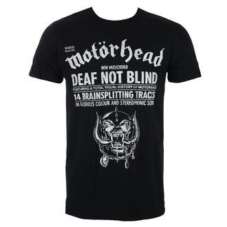 metál póló férfi Motörhead - Deaf Not Blind - ROCK OFF, ROCK OFF, Motörhead