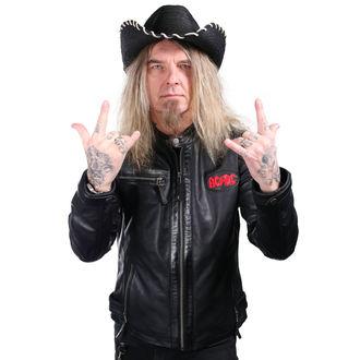 WORNSTAR Kalap - Hellrider HS Black Rocker Cowboy, WORNSTAR