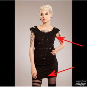 ruha nők POIZEN INDUSTRIES - Cross Spike - Fekete - SÉRÜLT, POIZEN INDUSTRIES