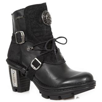 magassarkú cipő női - ITALI NEGRO, DRAMA ANTE NEGRO - NEW ROCK, NEW ROCK