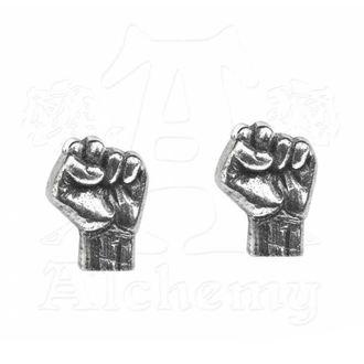 Rage Against The Machine Fülbevaló - Fist - ALCHEMY GOTHIC, ALCHEMY GOTHIC, Rage against the machine