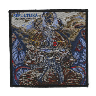 SEPULTURA Felvarró - MACHINE MESSIAH - RAZAMATAZ, RAZAMATAZ, Sepultura