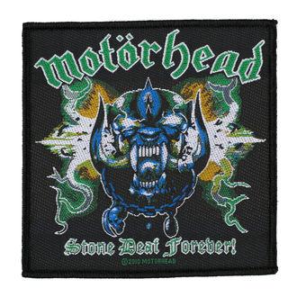 MOTORHEAD Felvarró - STONE DEAF FOREVER - RAZAMATAZ, RAZAMATAZ, Motörhead