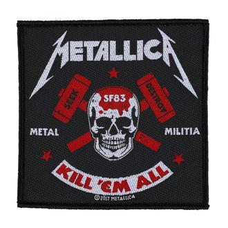 METALLICA Felvarró - METAL MILITIA - RAZAMATAZ, RAZAMATAZ, Metallica