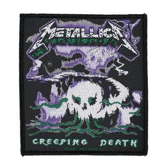 METALLICA Felvarró - CREEPING DEATH - RAZAMATAZ, RAZAMATAZ, Metallica