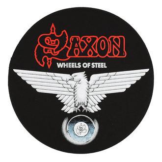 SAXON Nagy méretű felvarró - WHEELS OF STEEL - RAZAMATAZ, RAZAMATAZ, Saxon