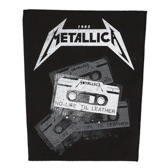 METALLICA Nagy méretű Felvarró - NO LIFE 'TIL LEATHER - RAZAMATAZ, RAZAMATAZ, Metallica