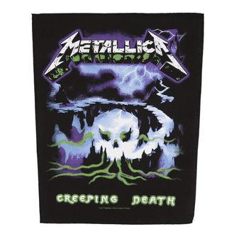 METALLICA Nagy méretű Felvarró - CREEPING DEATH - RAZAMATAZ, RAZAMATAZ, Metallica