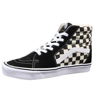 magasszárú cipő férfi - UA SK8-HI LITE (Checkerboard) - VANS, VANS