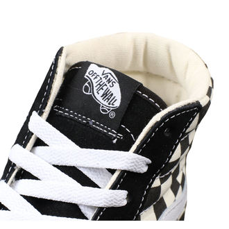 magasszárú cipő férfi - UA SK8-HI LITE (Checkerboard) - VANS