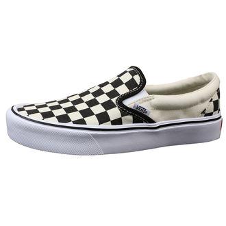 rövidszárú cipő férfi - UA SLIP-ON LITE (CHECKERBOARD) - VANS, VANS